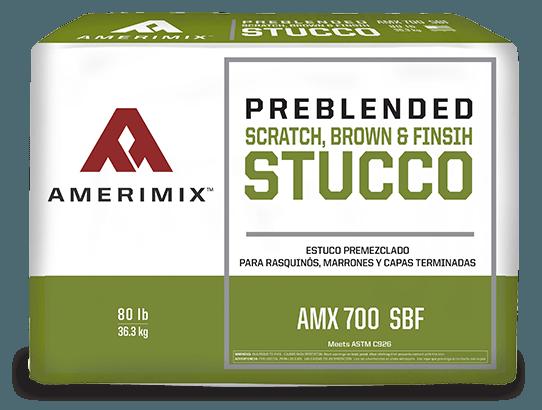 Scratch, Brown & Finish Stucco - Amerimix